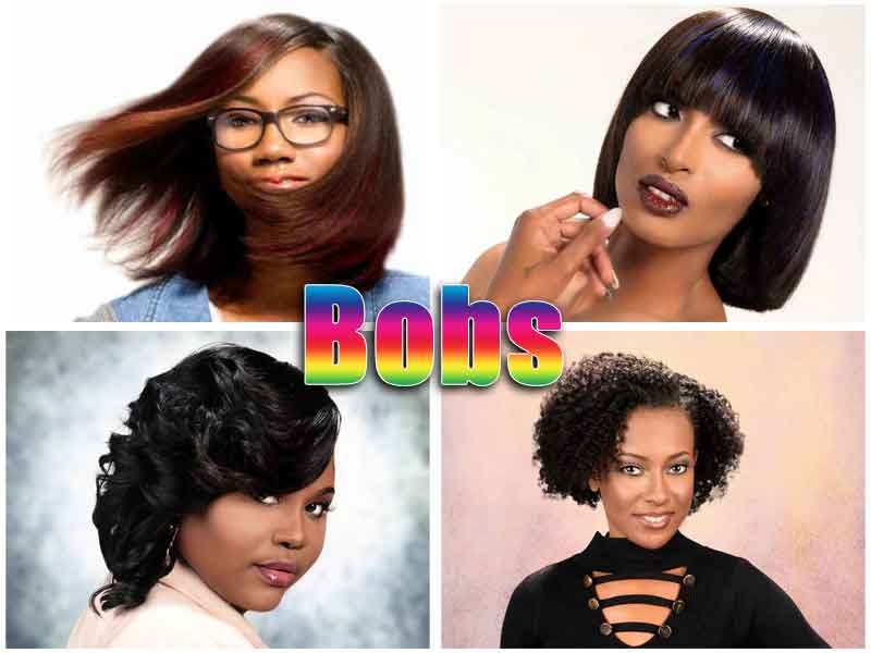 20 Hottest Shoulder Length Bob Hairstyles for Black Women in 2020