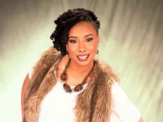 Fantastic Hairstyle with Loc Extensions and Barrel Twists