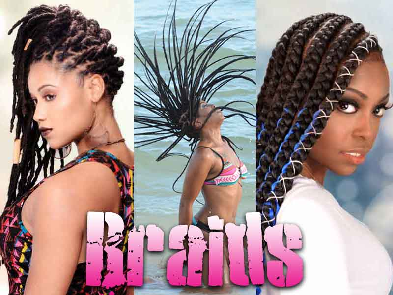 9 Most Attractive Lemonade Braid and Braids Hairstyles for 2019