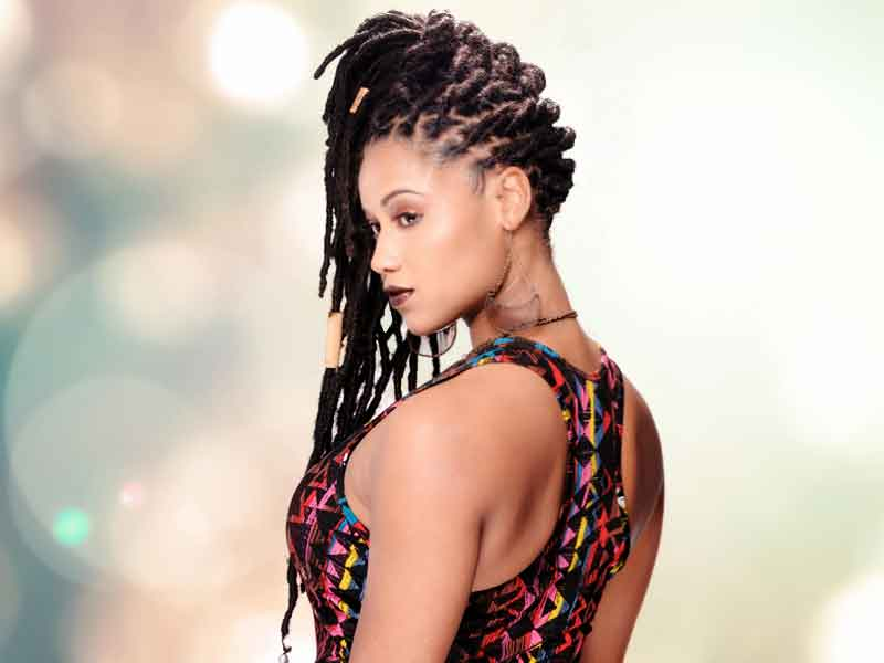Natural Hair & Locs Hairstyle