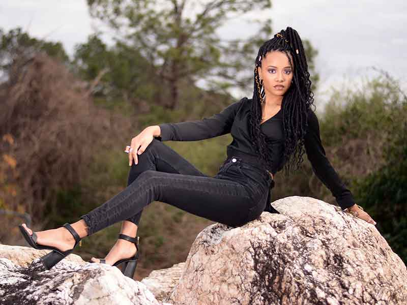 Long Locs Hairstyle