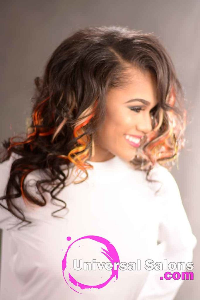 Curly Sew in for Natural Hair - 13