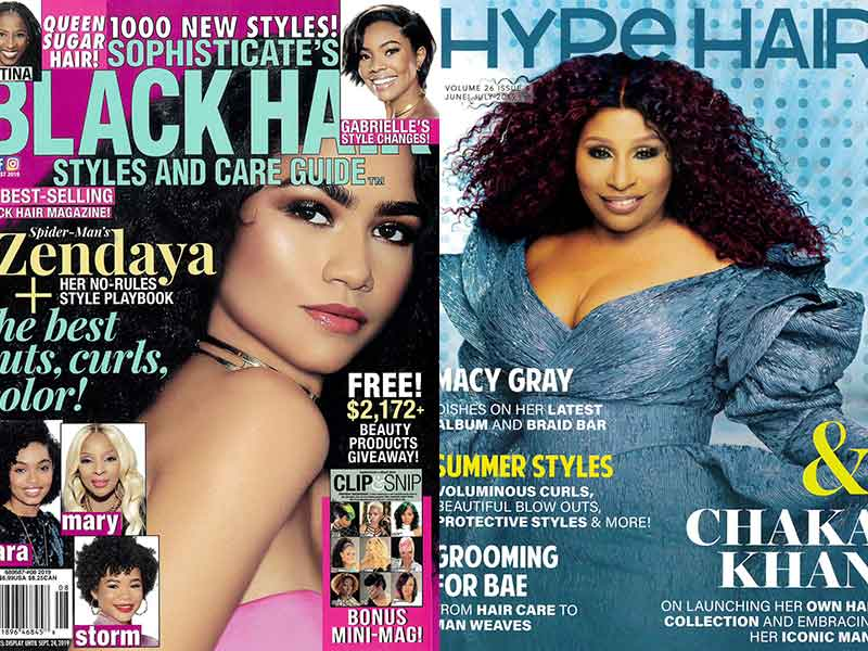 Hype Hair and Sophisticate's Black Hair Styles and Care Guide August 2019