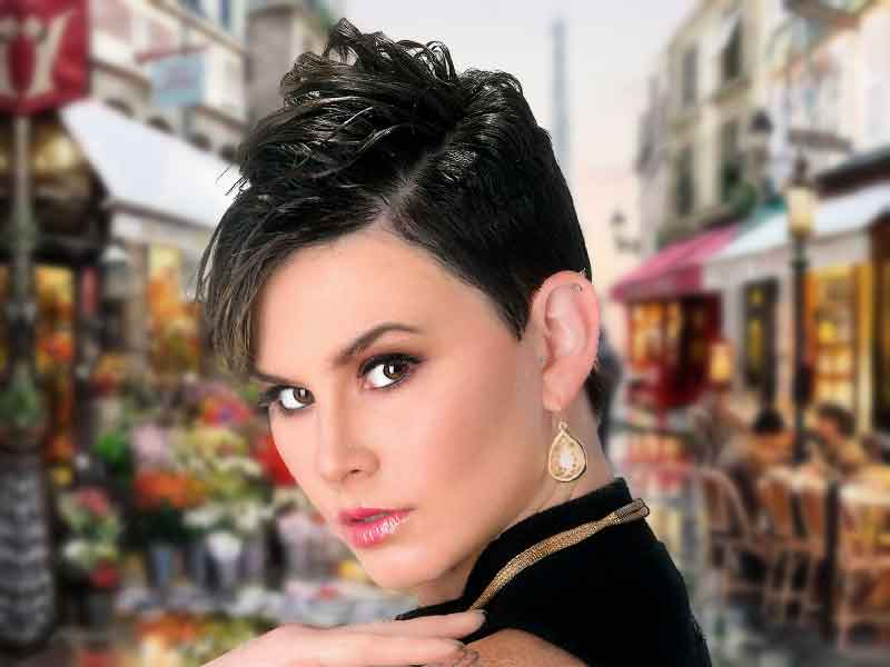 Short Pixie Cut Hairstyle