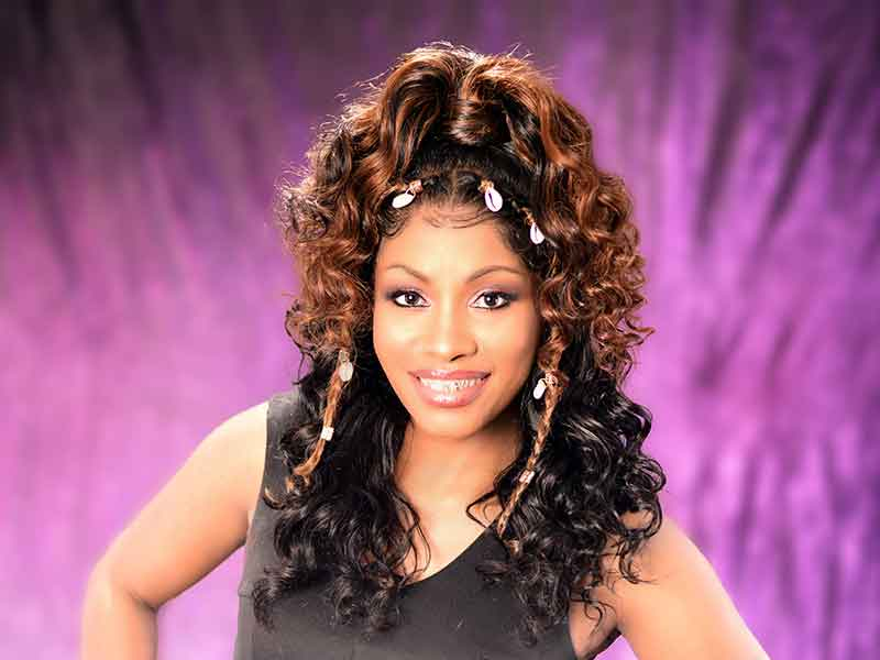 Curly Lace Wig Ponytail for Black Women from Denise Granberry