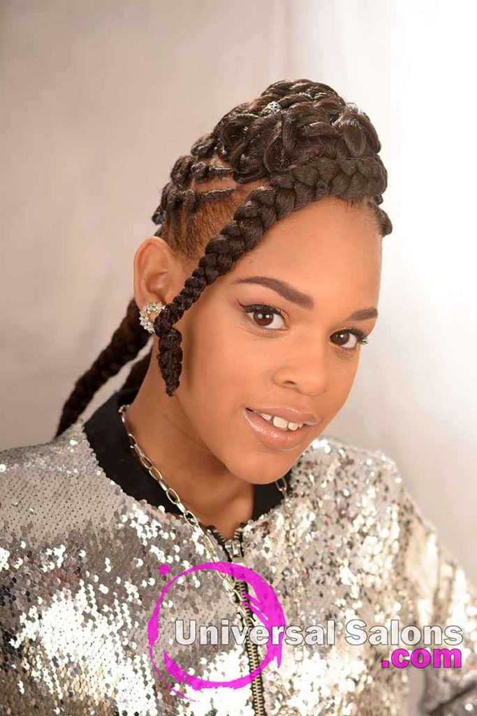 Right Front: Alluring Kids Braid Hairstyle from Marquita Briggs from Columbia, SC