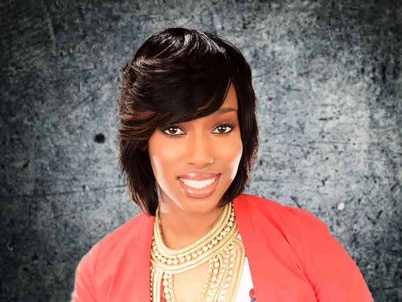 Check Out This Choppy Bob Hairstyle from Carla Harris in Columbia, SC