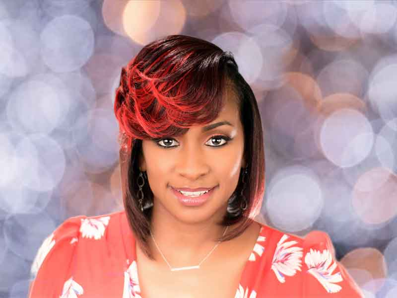 Elegant Bob Hairstyle for Black Women by Deedra Mcleod in Hartsville, SC