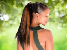Long High Ponytail with Highlights from Nivi Grimball in Charleston, SC