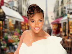 Niva Grimball Created One of Charleston, SC's Top Loc Updo Hairstyles