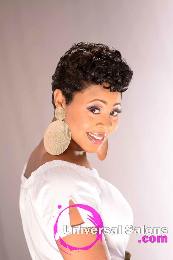 2nd Right View of a Short Hairstyle for Black Women from Ashlee Gradic in Charleston, SC