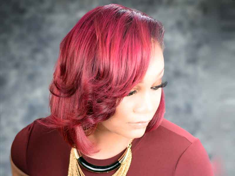 Asymmetrical Bob Hairstyle from Lakeisha Pipkin