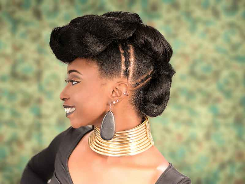This Triple Ponytail Updo Hairstyle Will Take Your Breath Away