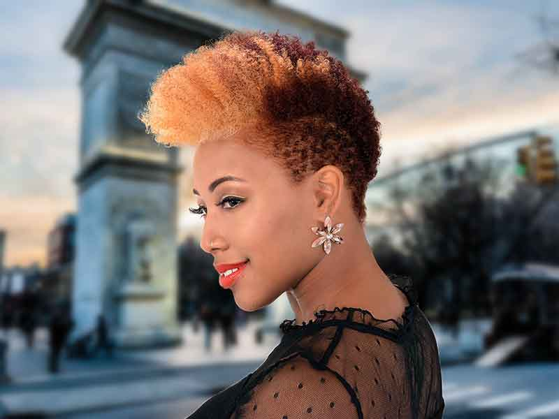 Revolutionize Your Short Natural Hair With Color With These Easy Tips