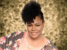 Curly Updo Hairstyle by Shamone Barnes