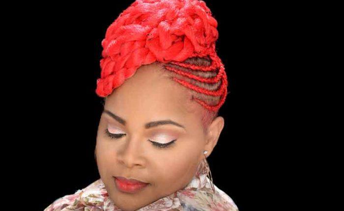 Trendy Basket Weave Updo Hairstyle