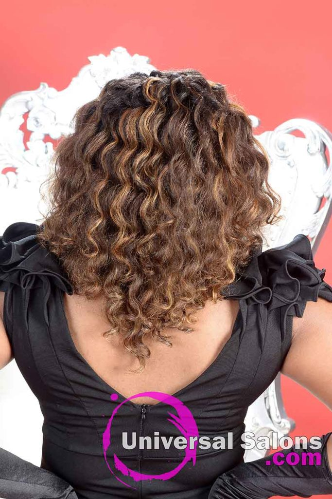Back View Natural Hair Color Ideas for African American Women